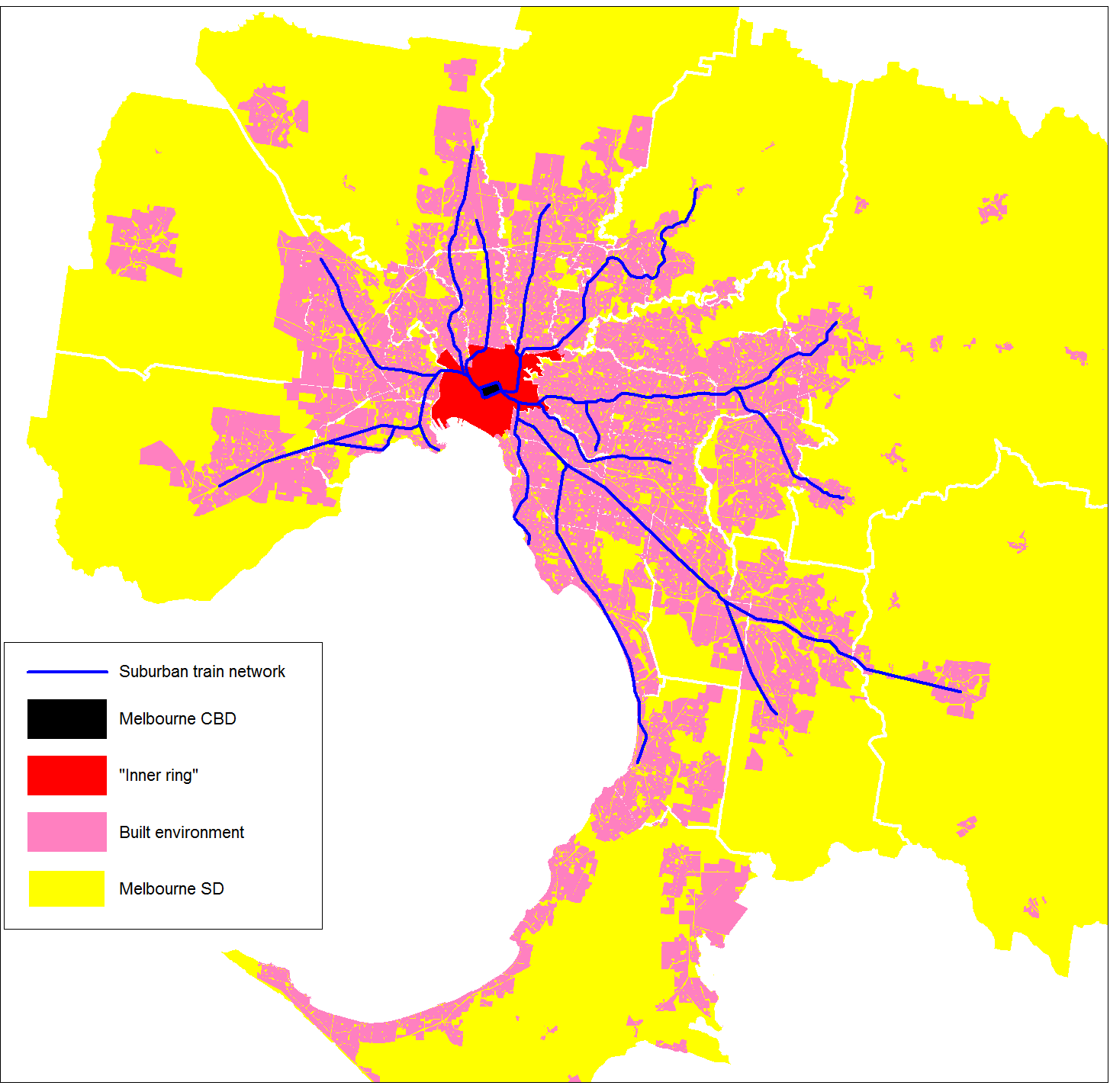 A look at Melbourne CBD transport Charting Transport