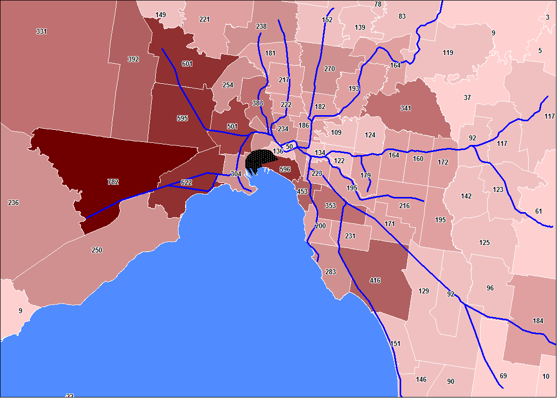 Where do dates come from in Melbourne