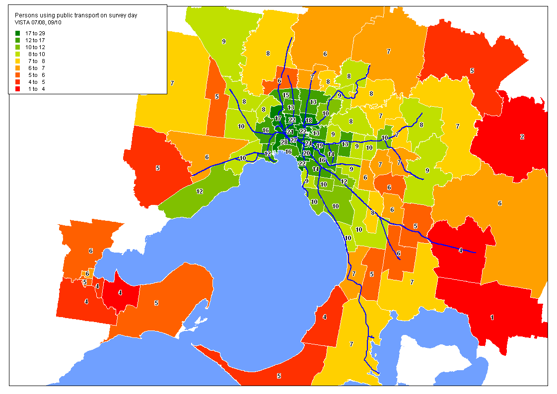 What Does Australia Look Like On A Map.What Sorts Of People Use Public Transport Part One Charting