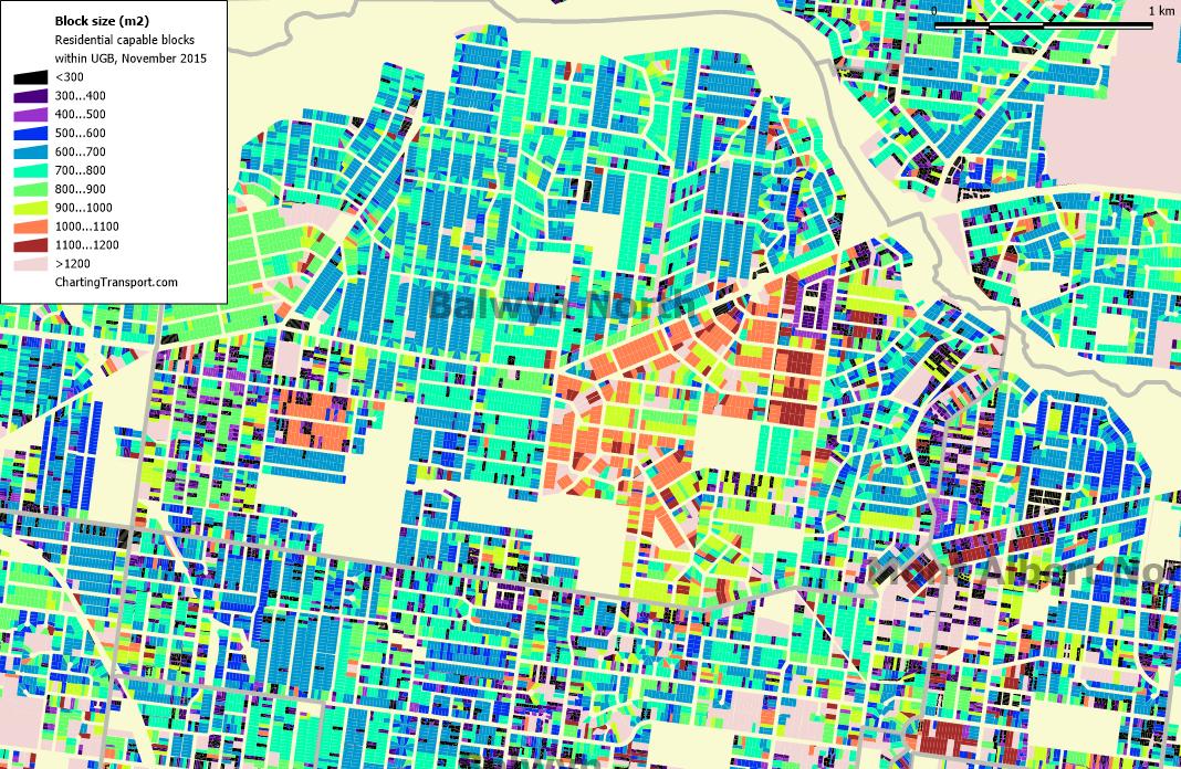 Are Melbourne S Suburbs Full Of Quarter Acre Blocks Charting Transport
