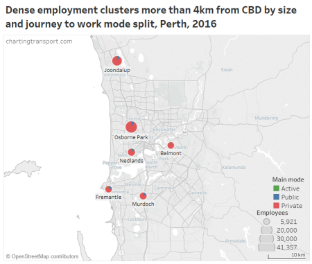 Employment density | Charting Transport