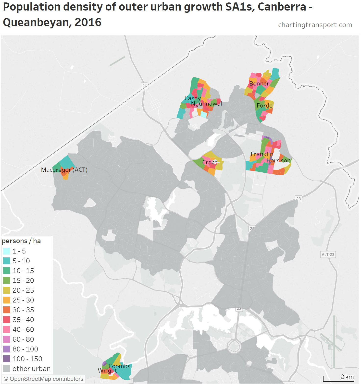 Are Australian cities sprawling with low-density car-dependent ...